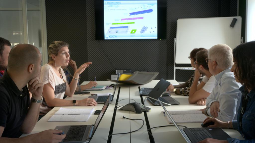 Réunion multi-métiers au sein du Pôle d'Excellence Composites d'Ajaccio
