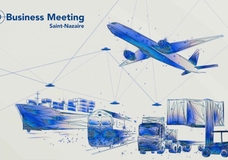 Saint Nazaire business meeting